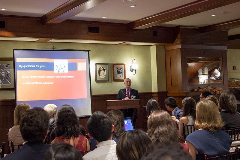 Professor Alan S. Blinder lecturing