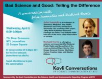 Bad Science and Good: Telling the Difference - Event Poster 5 Apr 2017