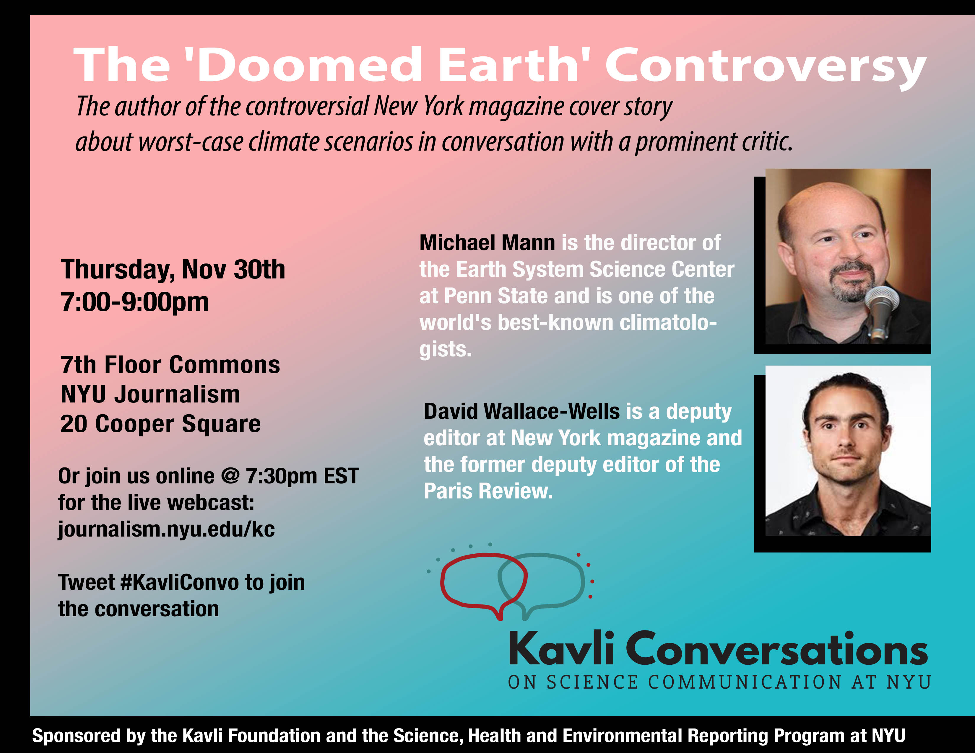 The 'Doomed Earth' Controversy - Event Poster 2017