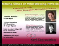 Making Sense of Mind-Blowing Physics - Event Poster 2017