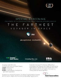 The Farthest Voyager in Space - Special Screening - Event Poster September 21st 2017