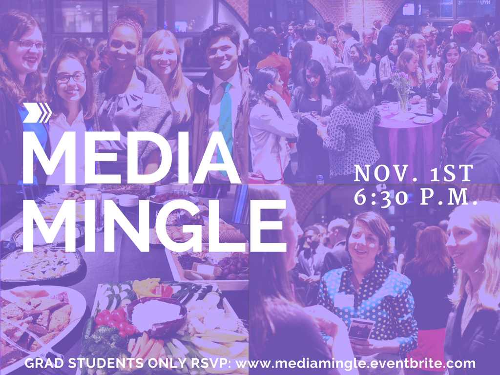 MEDIAMingle - Event Poster 2017