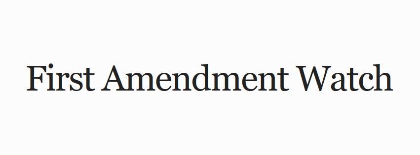 First Amendment Watch Logo