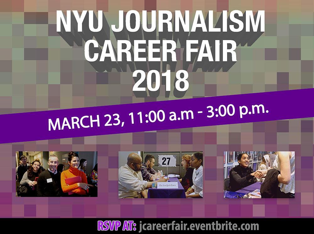 NYU Journalism Career Fair 2018