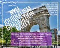NYU Journalism Graduation Party 2018