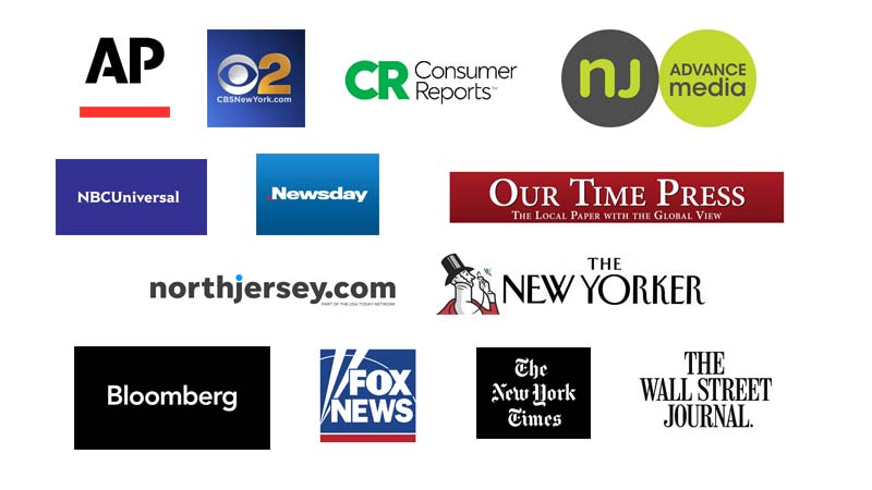 NYU Journalism Hosts NABJ Global Diversity Summit - Sponsor Logos
