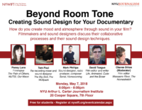 Beyond Room Tone: Creating Sound Design for Your Documentary - 2018 Poster
