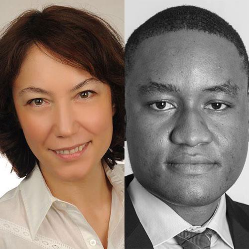 Yasemin Esmen and Chibuike Oguh