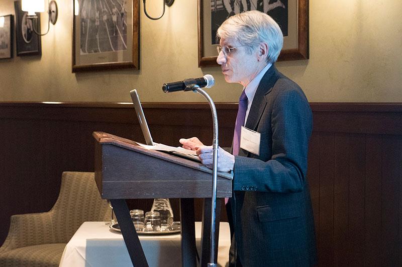 Marjorie Deane Professor Stephen Solomon Making Introductions