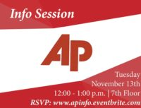 Associated Press Info Session - Event Poster 2018