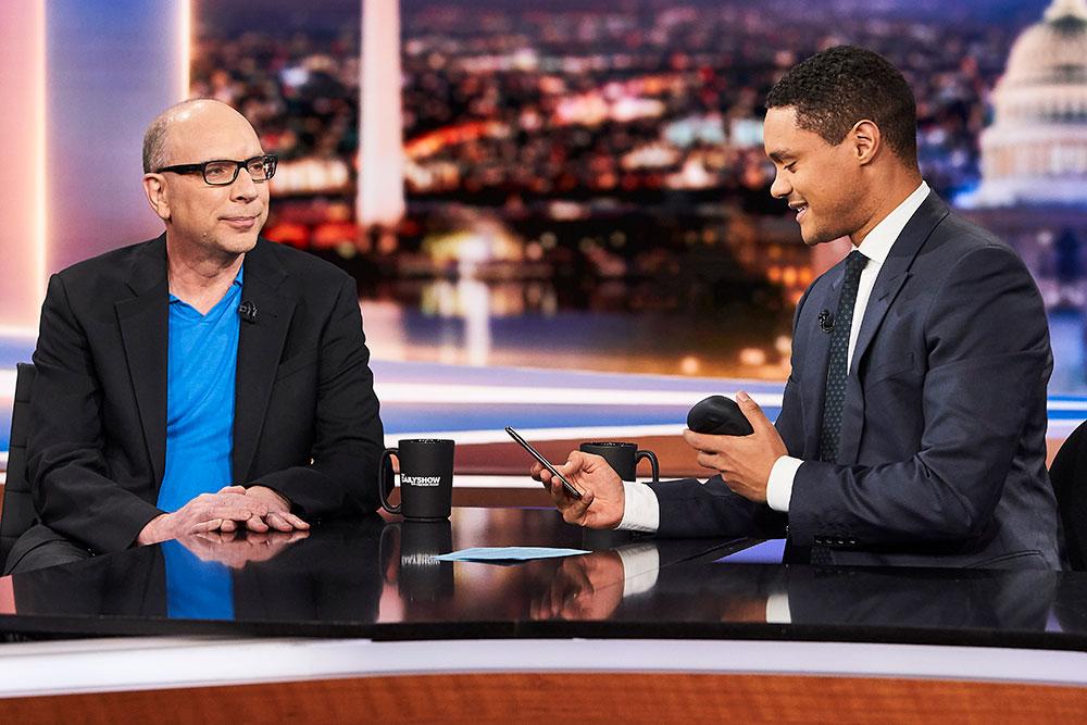2018 Fall - Jay Rosen and Trevor Noah on the Daily Show