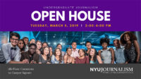 Event Poster - 2019 Spring - Undergraduate Open House - 5 March 2019 2:00-4:00pm - Read page for details