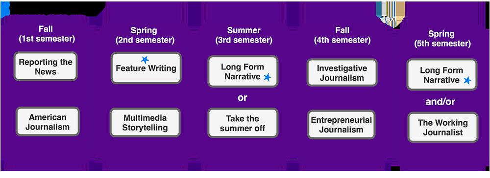 Online Journalism Pathway: 2 Years (Read below for details)