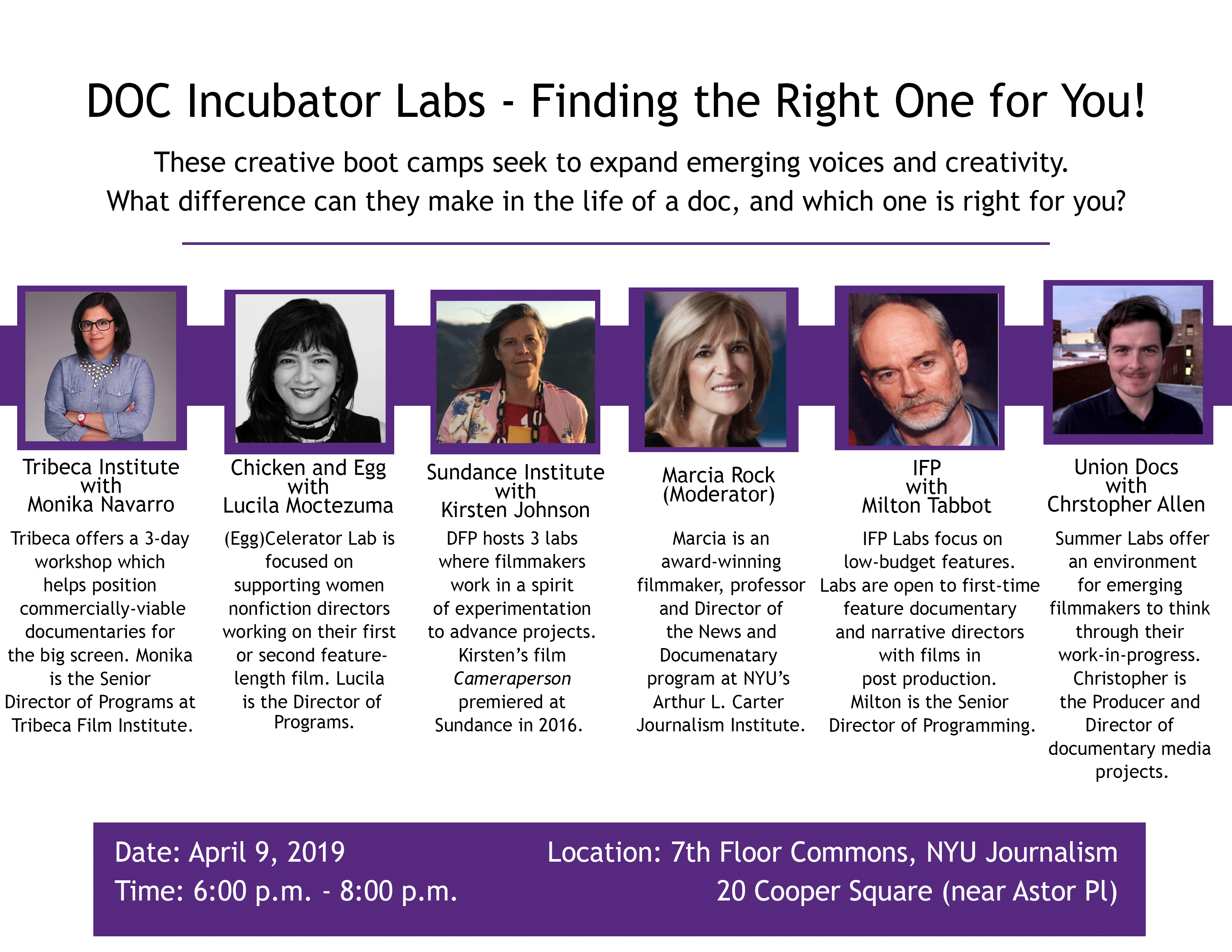 DOC Incubator Labs: Finding the Right One for You!
