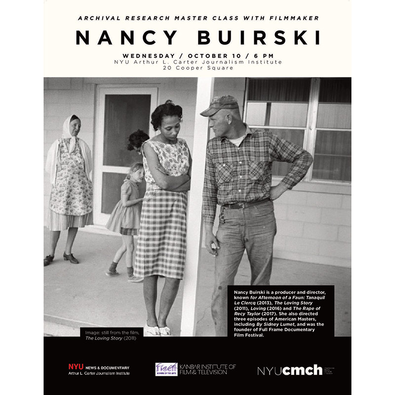 Nancy Buirski - Wednesday October 10th
