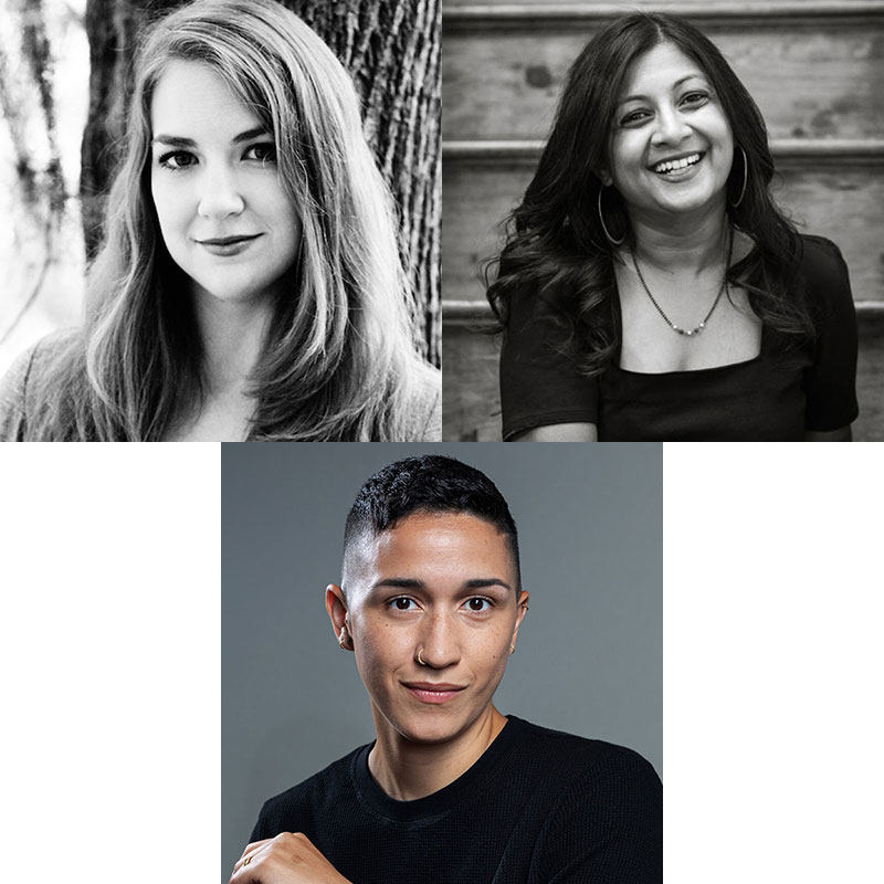 Rachel Nuwer(SHERP 2011),Apoorva Mandavilli(SHERP 1999)andArielle Duhaime-Ross (SHERP 2013)
