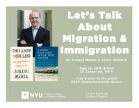 Let's Talk About Migration & Immigration