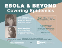 Ebola and Beyond: Covering Epidemics