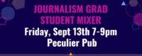 Journalism Grad Student Mixer