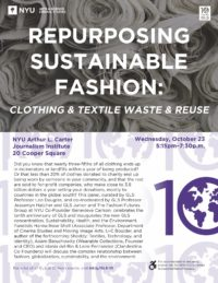 Repurposing Sustainable Fashion