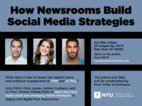 How newsrooms build social media strategies