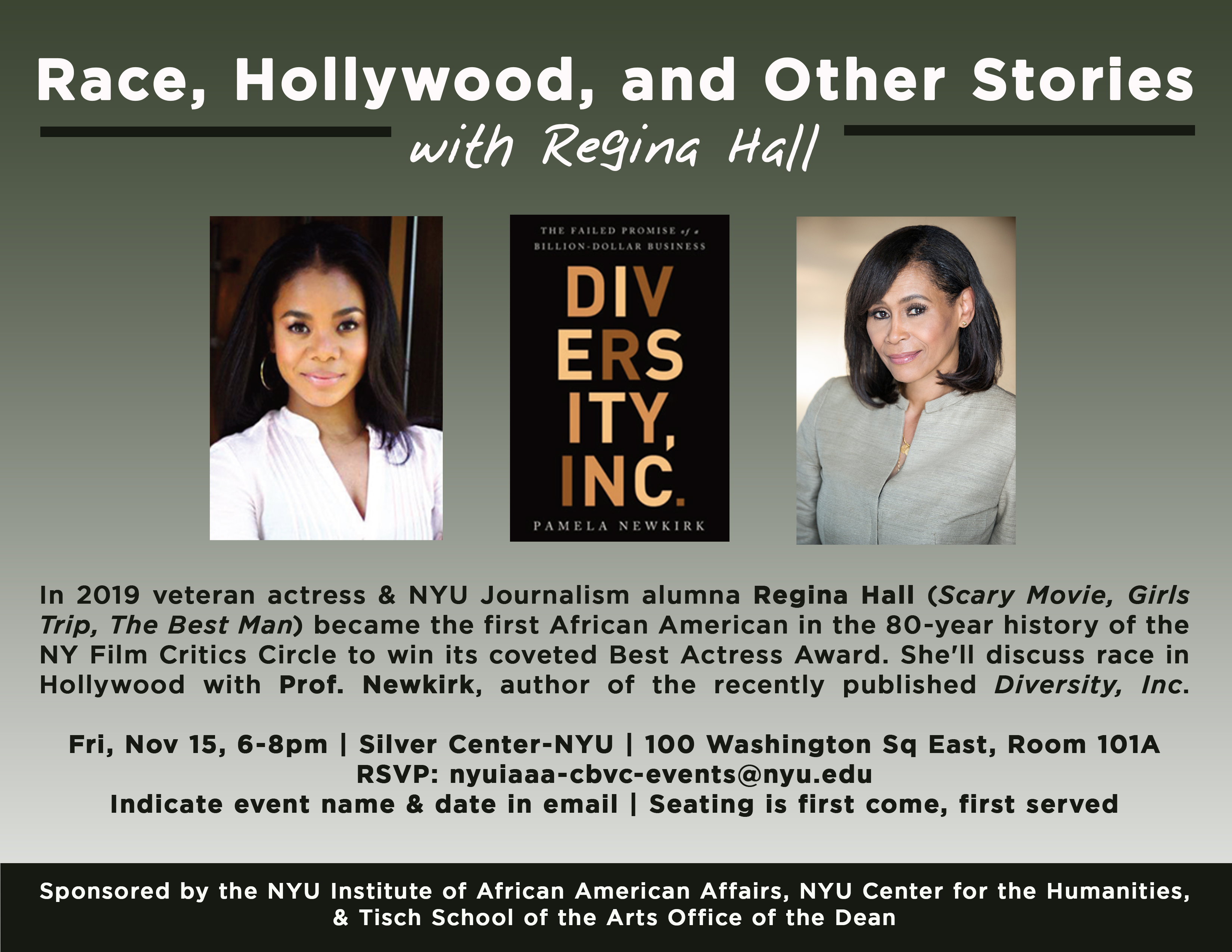 Race, Hollywood, and Other Stories with Regina Hall
