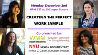 Creating the Perfect Work Sample - Event Poster