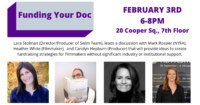 Funding Your Doc - Event Poster
