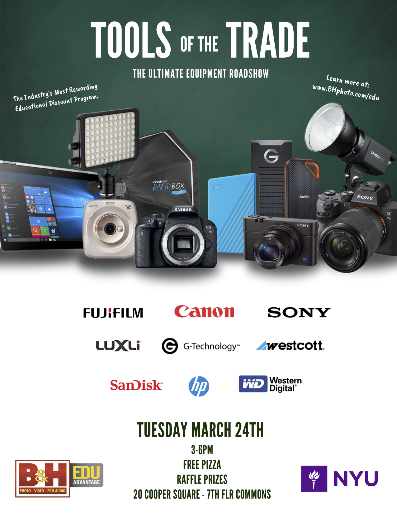 Tools of the Trade - Event Poster