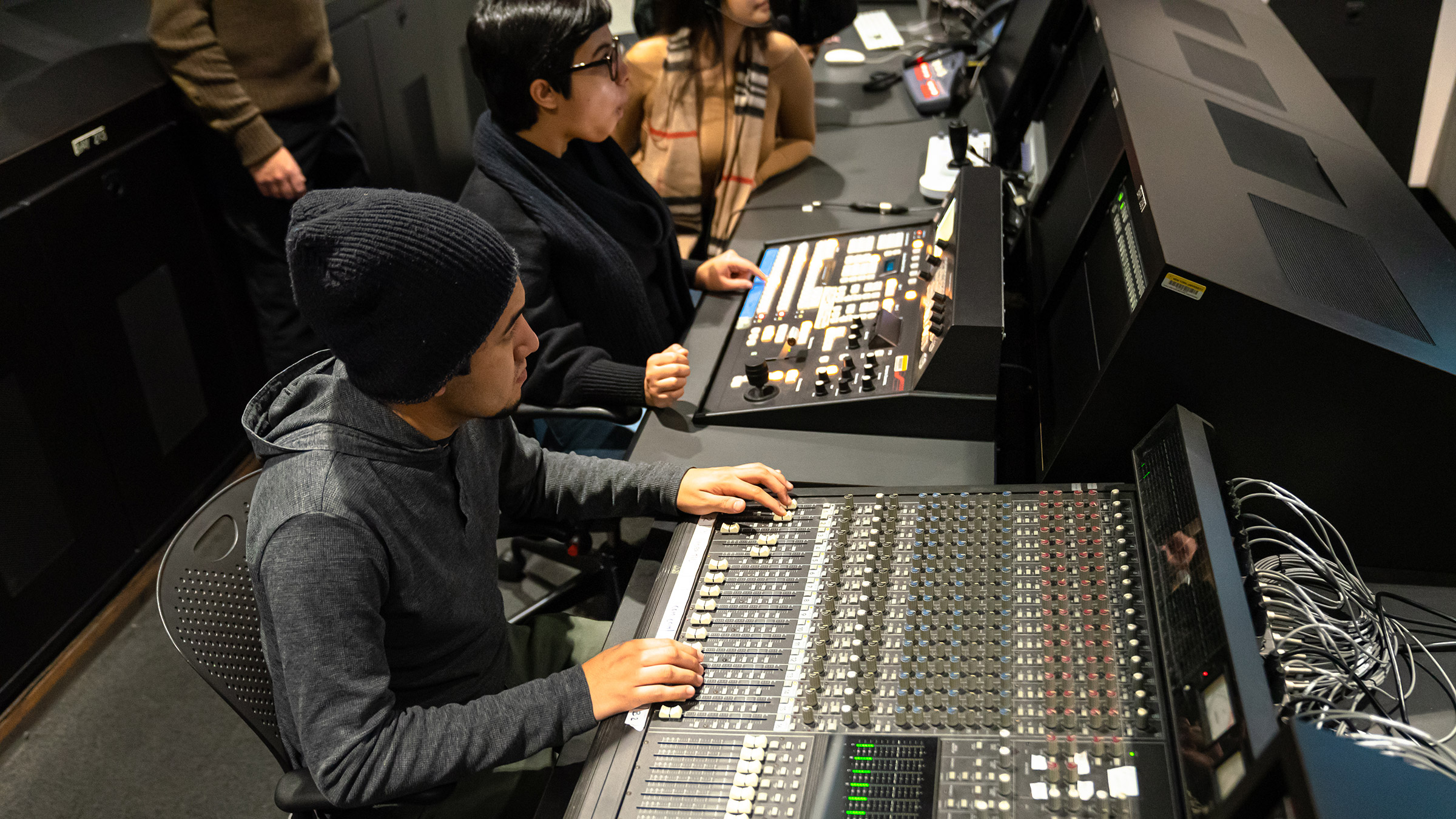 Student at Control Board