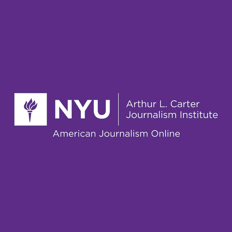 NYU Arthur L. Carter Journalism Institute - American Journalism Online