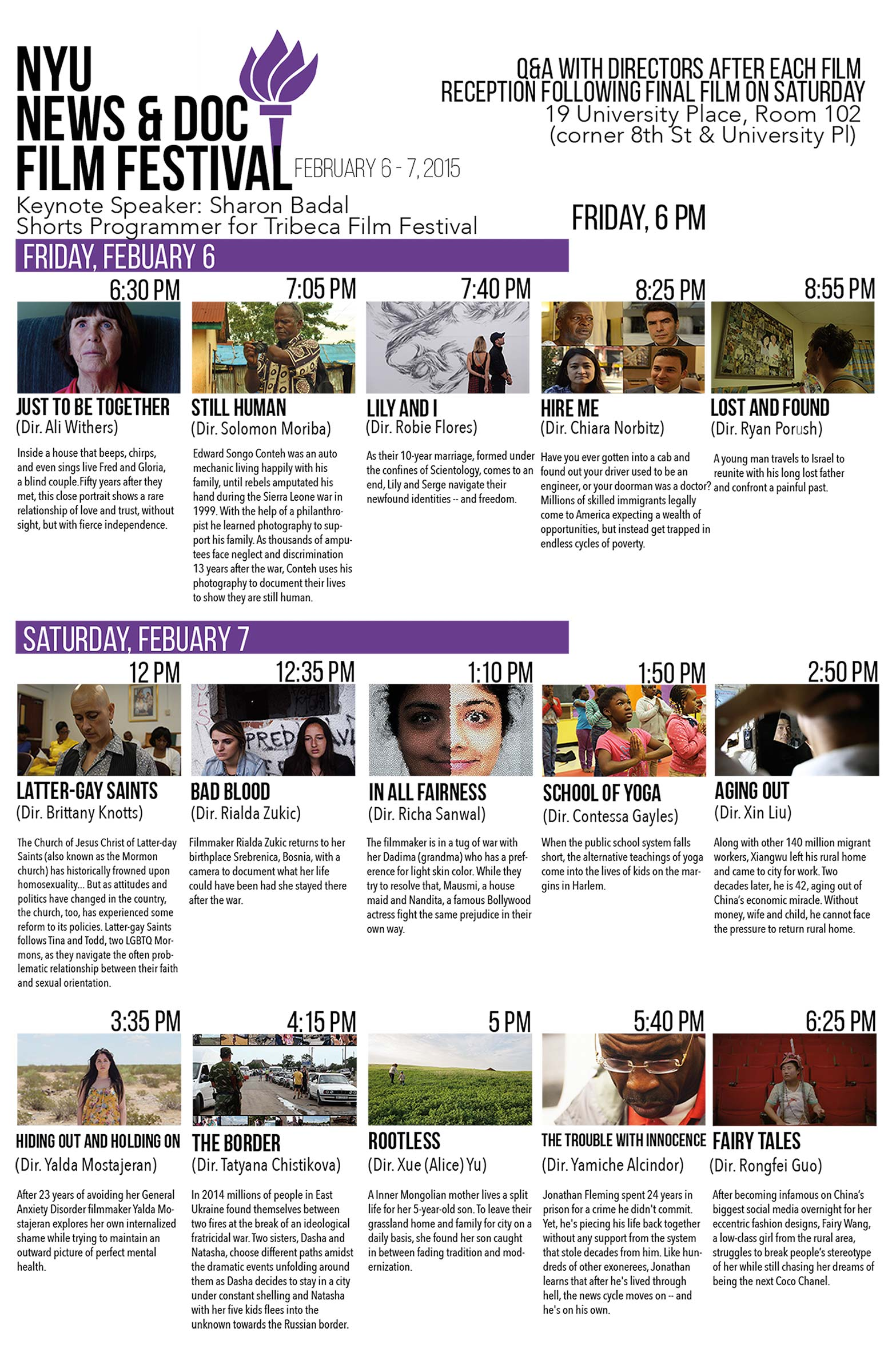 NewsDoc Film Festival 2015 Poster (Read more on event page)