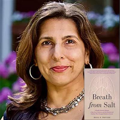 Bijal Trivedi and Breath from Salt Book Cover