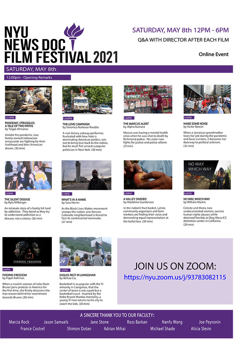 NewsDoc Film Festival 2021 Poster (Read more on event page)