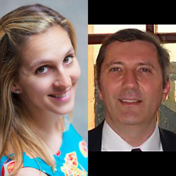 Alexa Kurzius (SHERP 2013) and Dan Drollette, Jr. (SHERP 1994)
