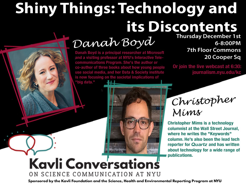 Shiny Things: Technology and its Discontents