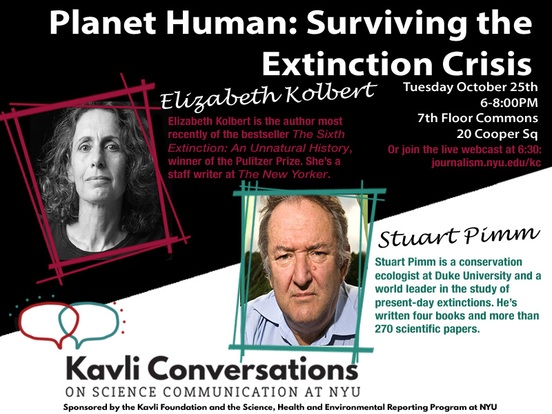 Planet Human: Surviving the Extinction Crisis
