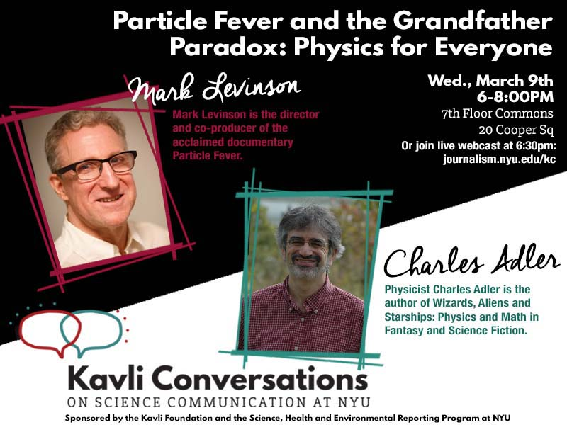 Particle Fever and the Grandfather Paradox: Physics for Everyone