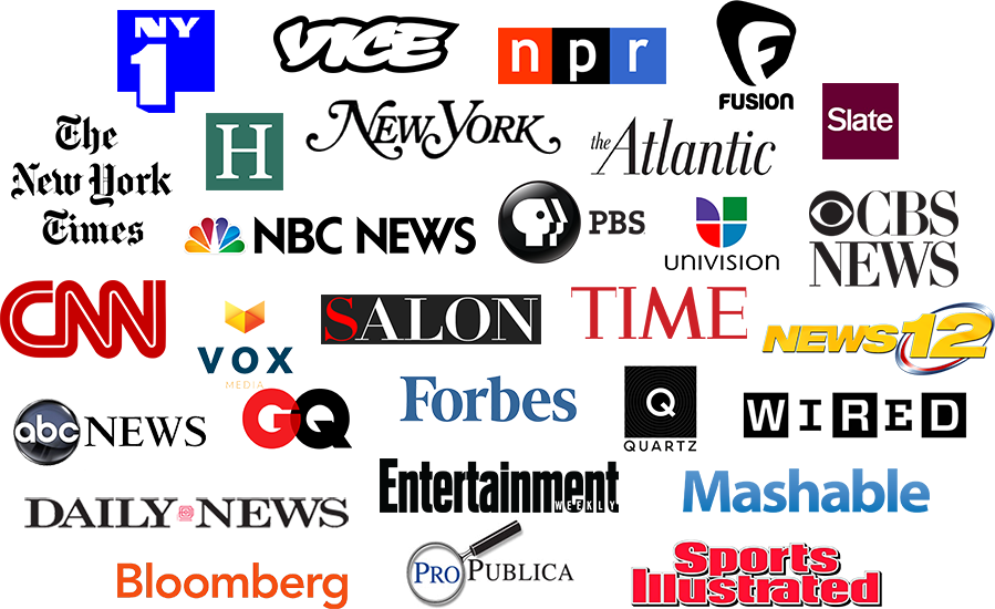 Career Services Logo Collage