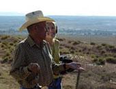 Prof. Rock shooting with Navajo Viet Nam Veteran