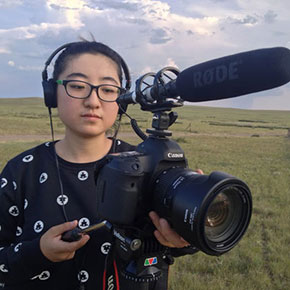 Xue Yu (2014) films her thesis documentary in Inner Mongolia, China.