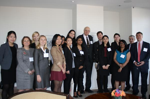 Paul Volcker and BER Students