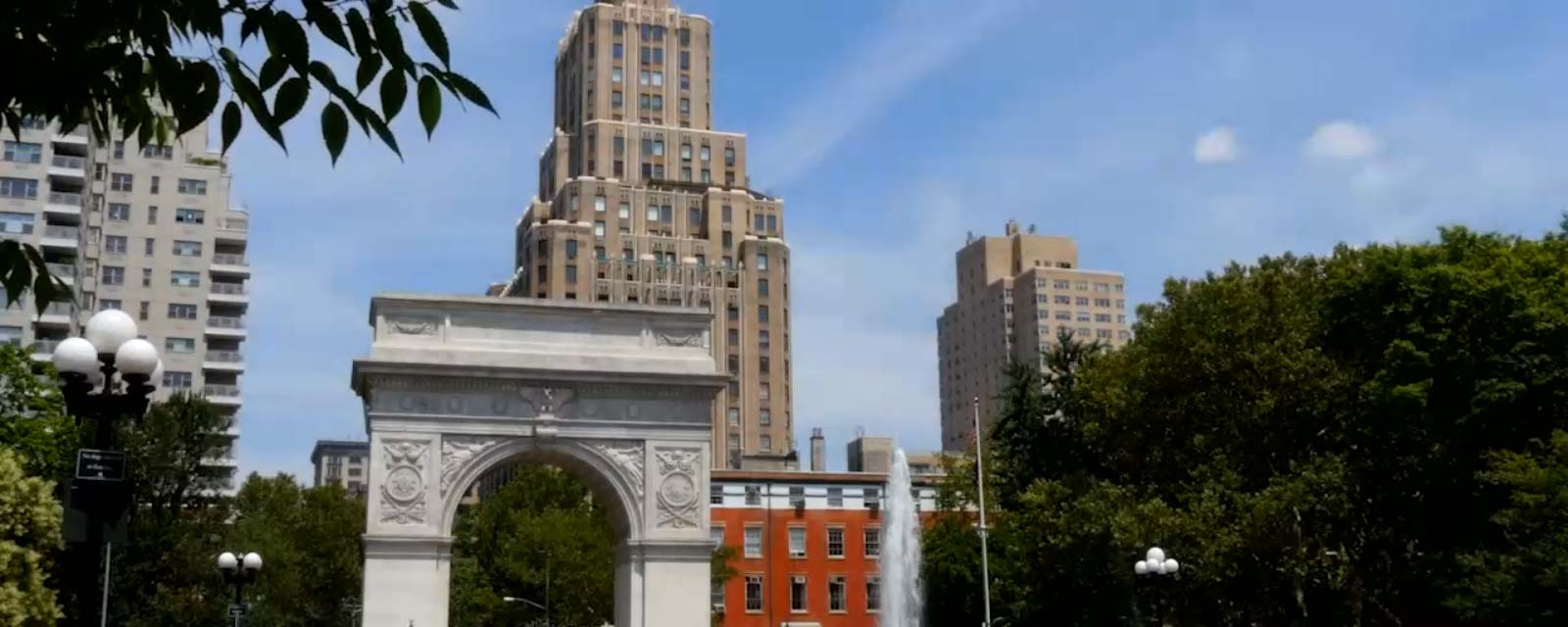 NYU Journalism - Washington Square Park